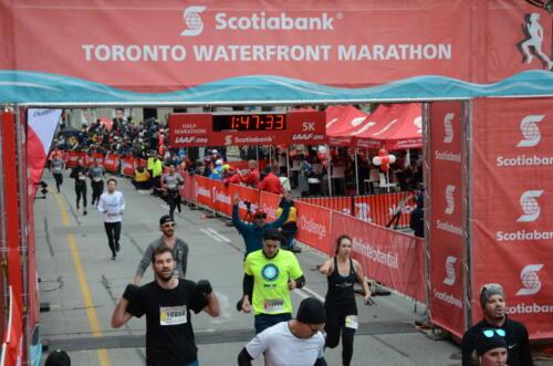 Scotiabank Toronto Waterfront Marathon 2018